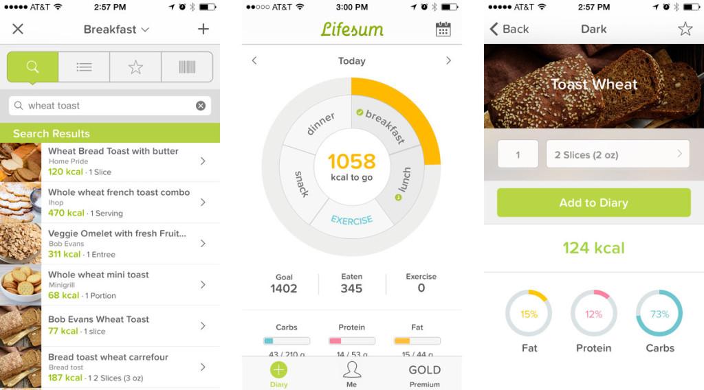 App per dimagrire , Lifesum