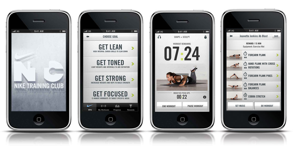 App per dimagrire, Nike Training Club