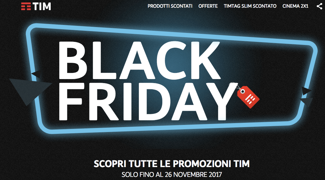 Black Friday 2017 Tim