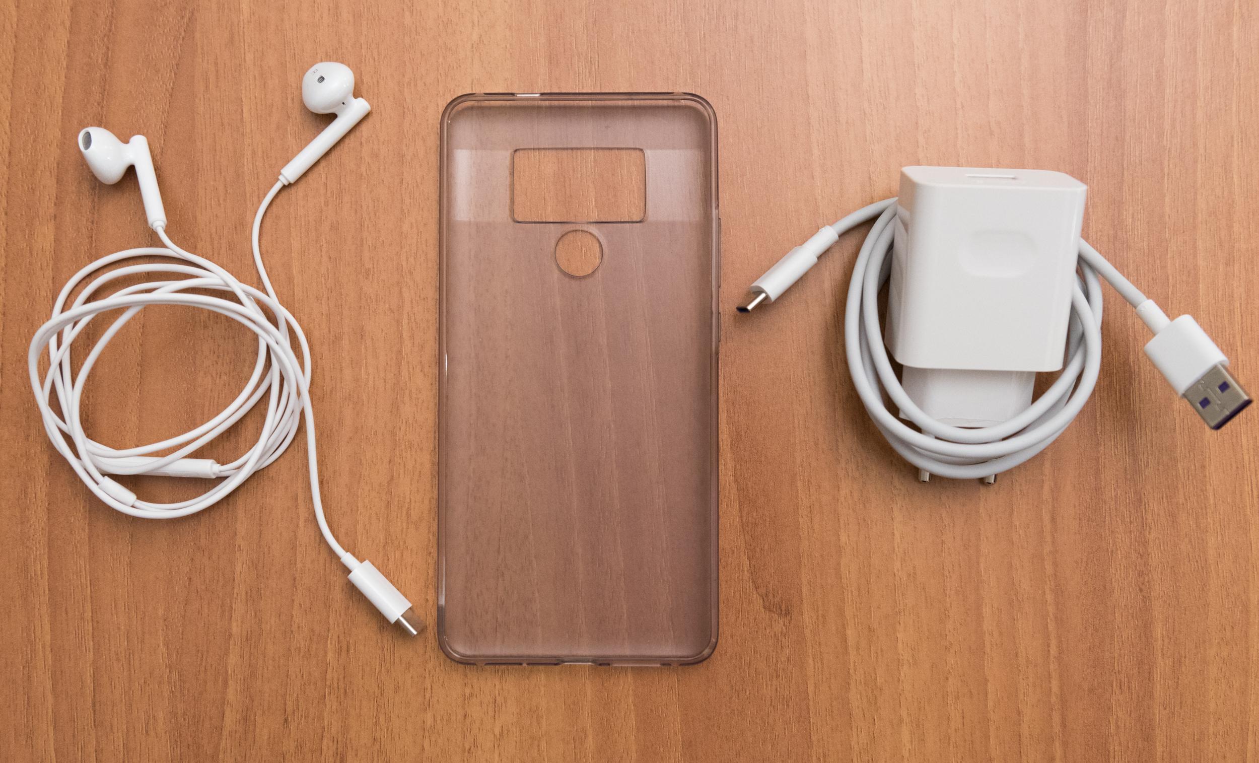 Contenuto confezione unboxing Huawei Mate 10 Pro