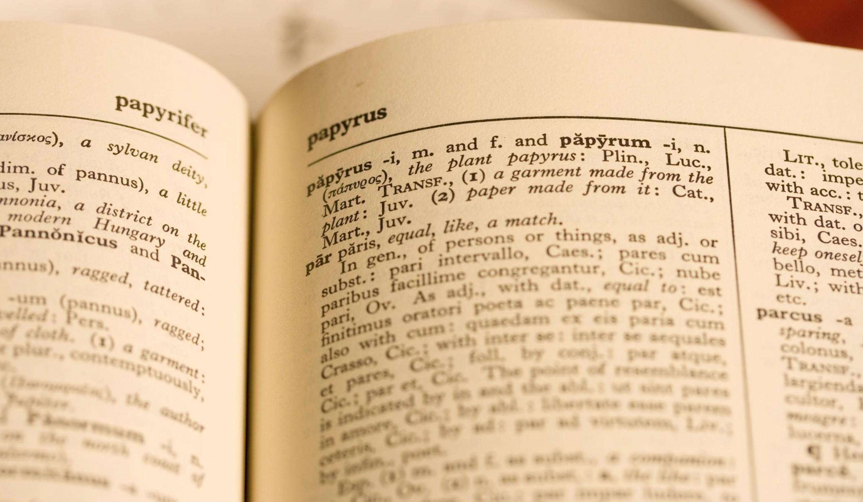 Dizionario latino: servizi web e risorse online