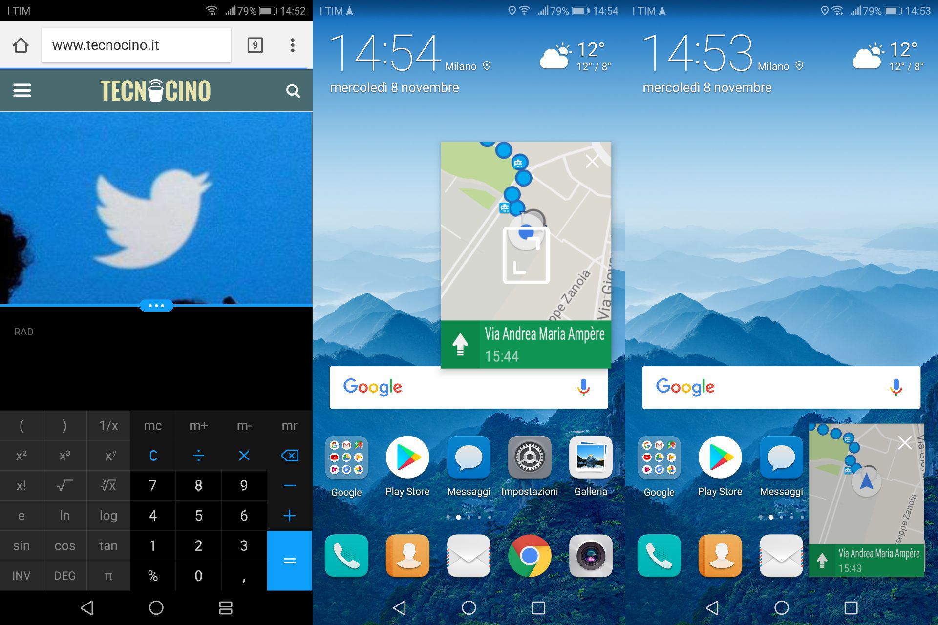 Funzionalità Android 8.0 Oreo Huawei Mate 10 Pro