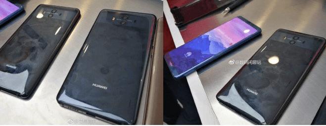 Huawei Mate 10 Pro design rubato