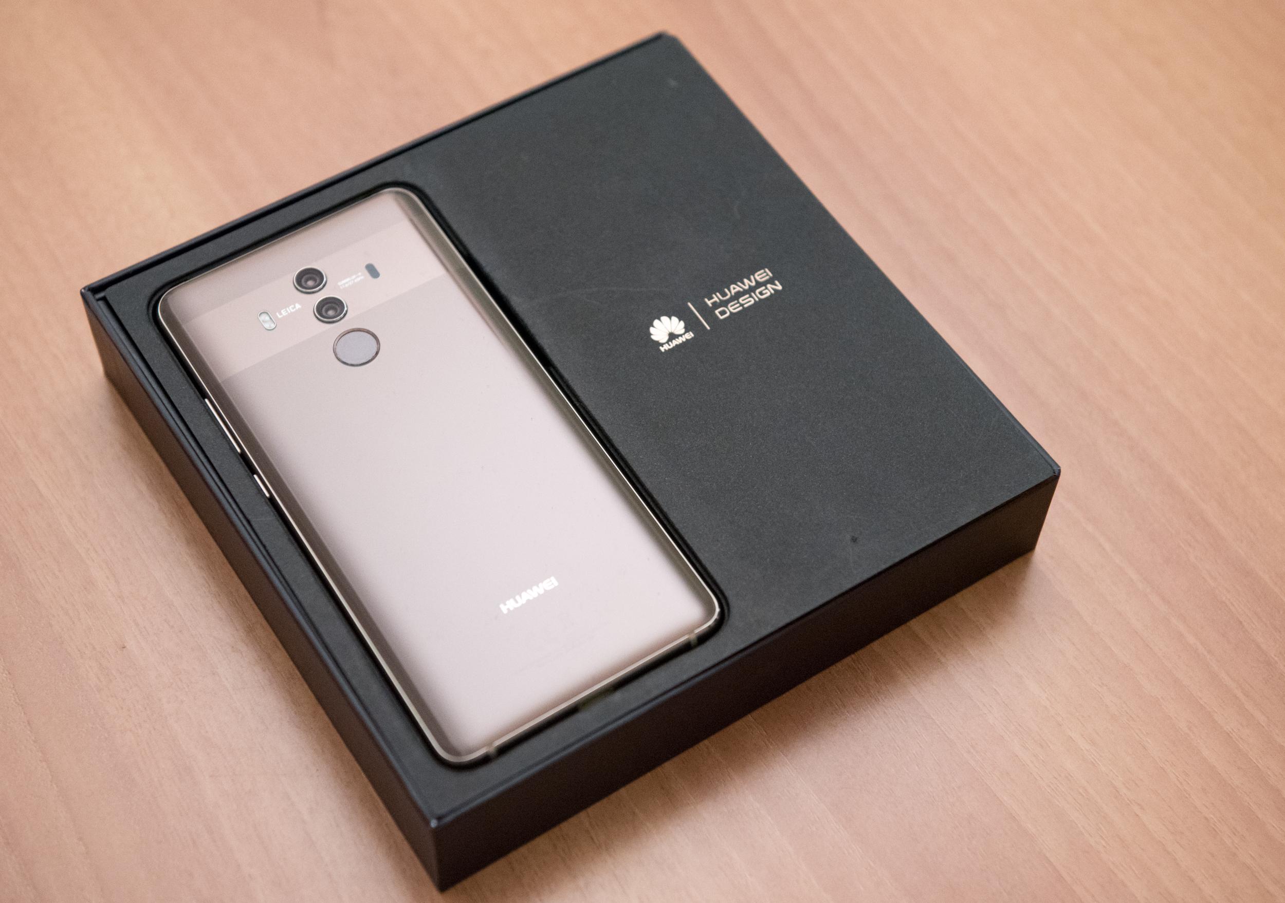 Huawei Mate 10 Pro retro dettaglio