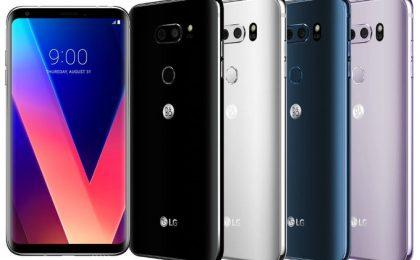 LG V30: prezzo, uscita, scheda tecnica ufficiali per l'Italia
