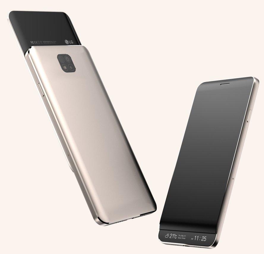 LG V30 mockup