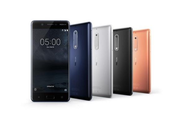 Nokia 5 colori