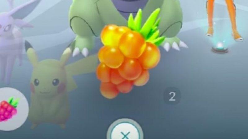 Pokemon Go Golden Berry