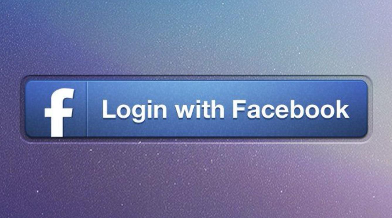 Pulsante login Facebook accesso diretto
