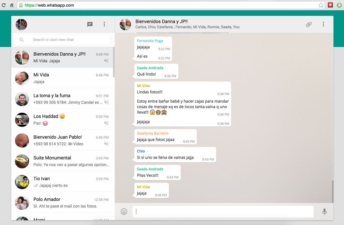 WhatsApp Web per Windows e Mac