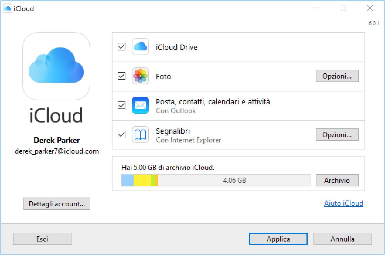 iCloud PC Windows