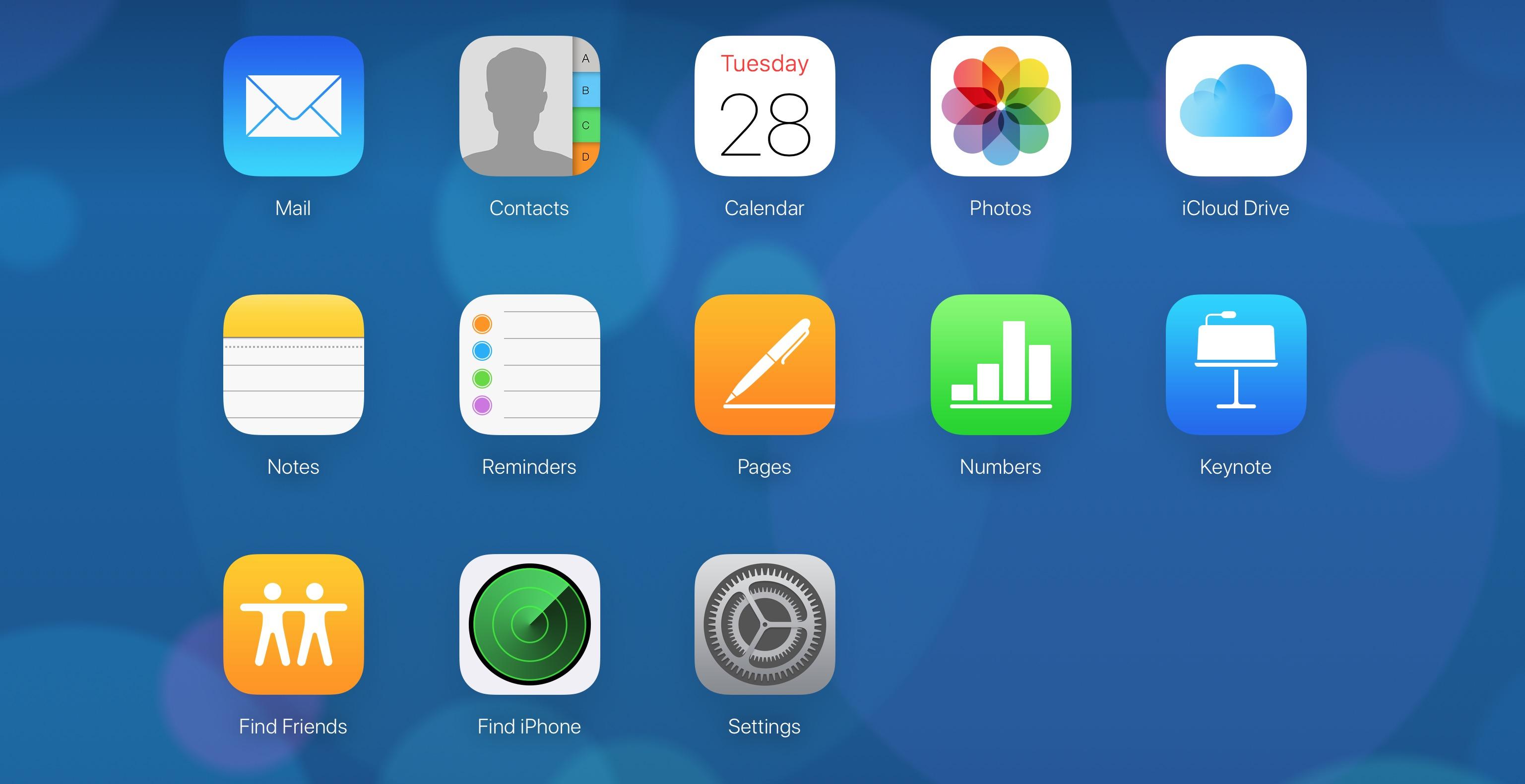 iCloud da browser