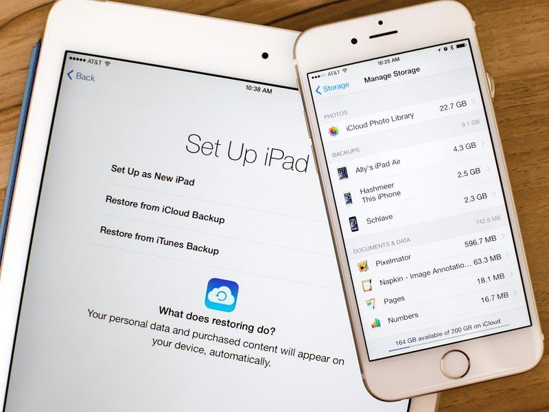iCloud su iPhone iPad e iPod Touch