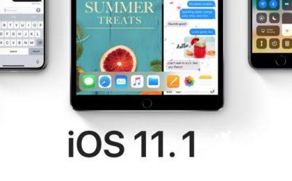 iOS 11.1: le novità dell'aggiornamento