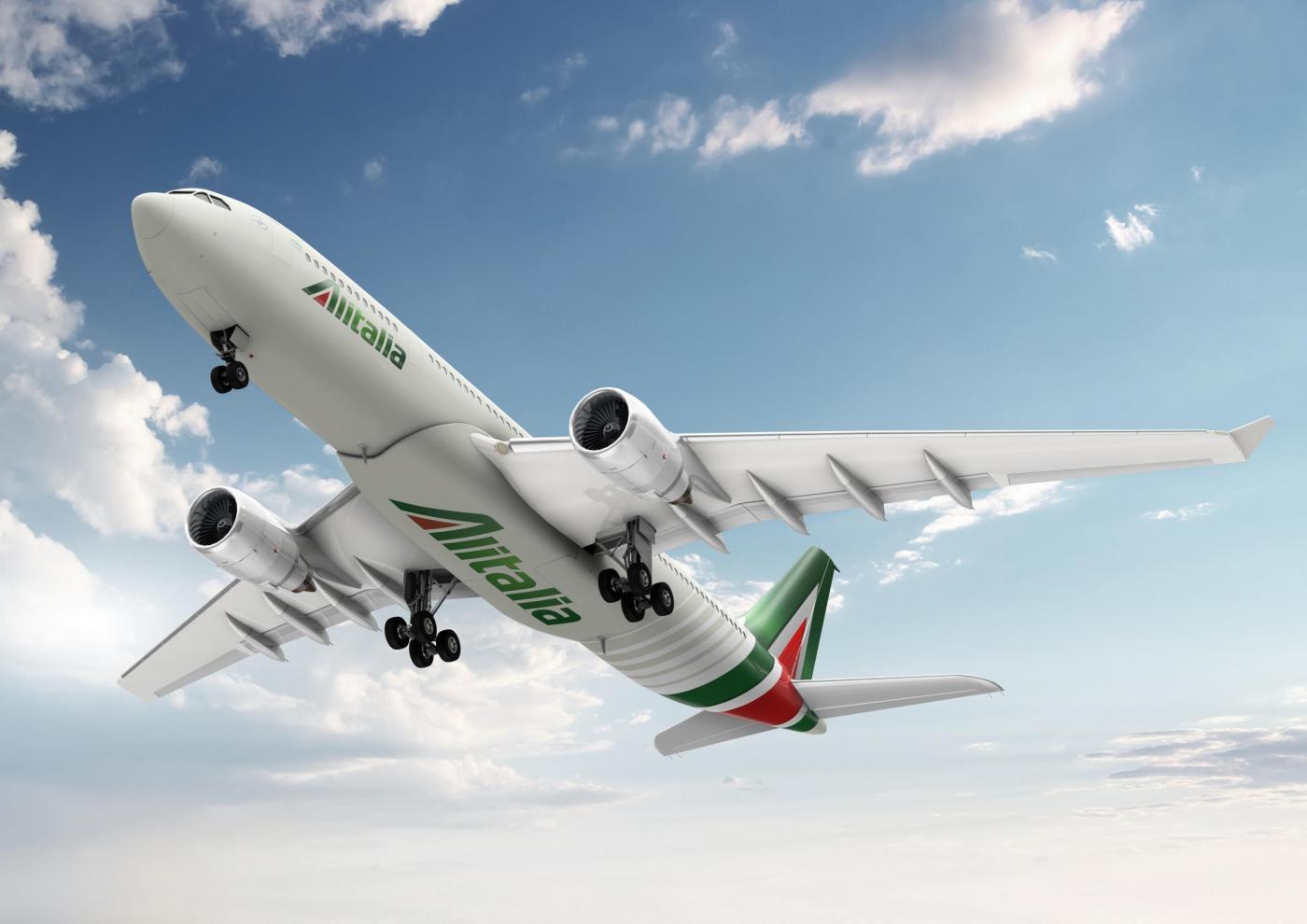 Presenta del nuovo logo e dei nuovi servizi di Alitalia
