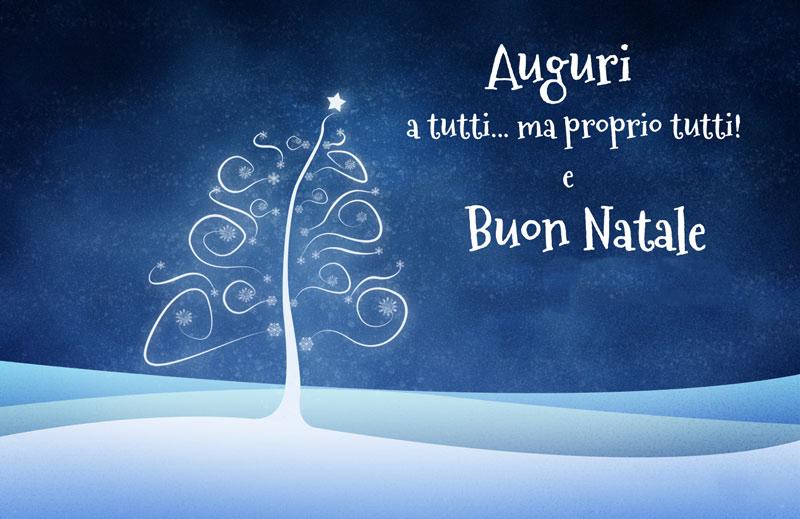 Auguri a tutti di Buon Natale