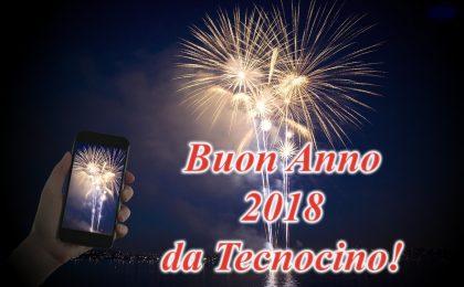 Buon Anno 2018 dalla redazione di Tecnocino