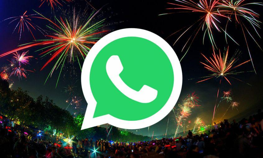 Auguri Di Natale Animati Da Inviare Via Mail.Buon Anno 2018 Le Gif Di Auguri Per Whatsapp Tecnocino