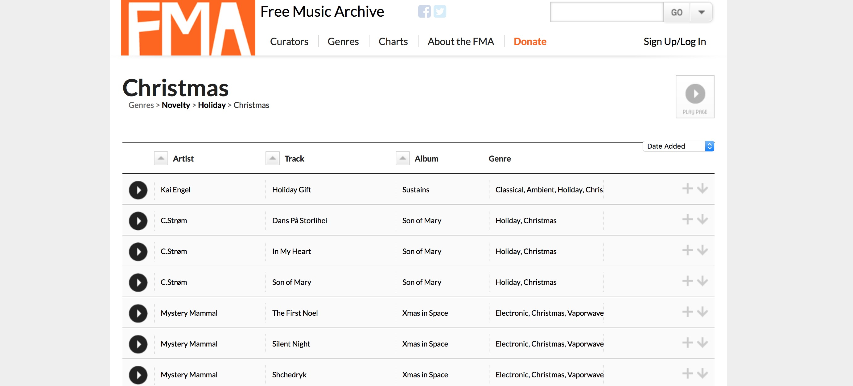 Canzoni di Natale gratis