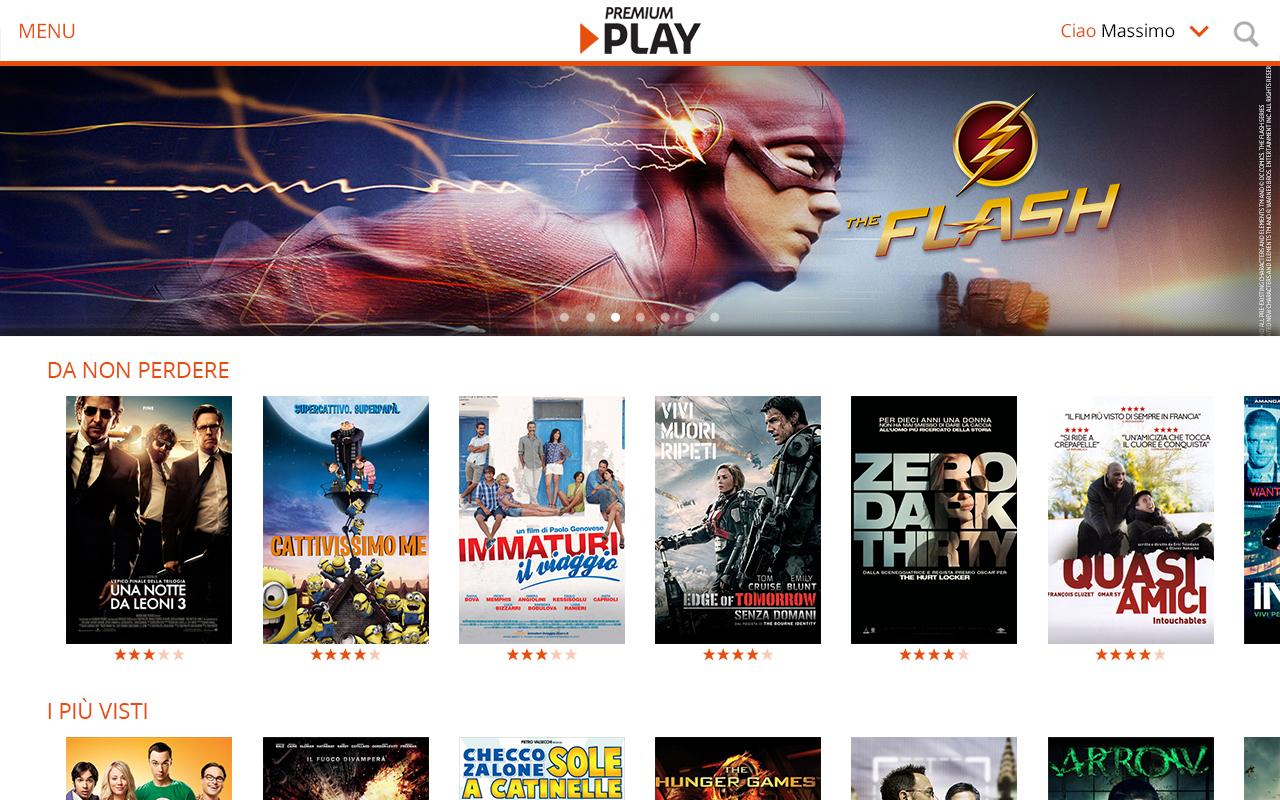 Premium Play su Android e iOS