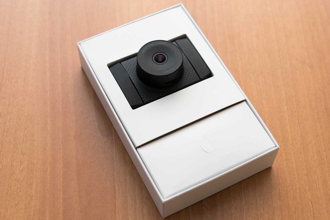 Xiaomi Yi Ultra Dash Camera contenuto confezione