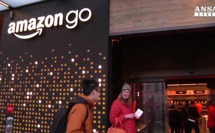 Amazon GO apre a Seattle: il primo negozio senza casse