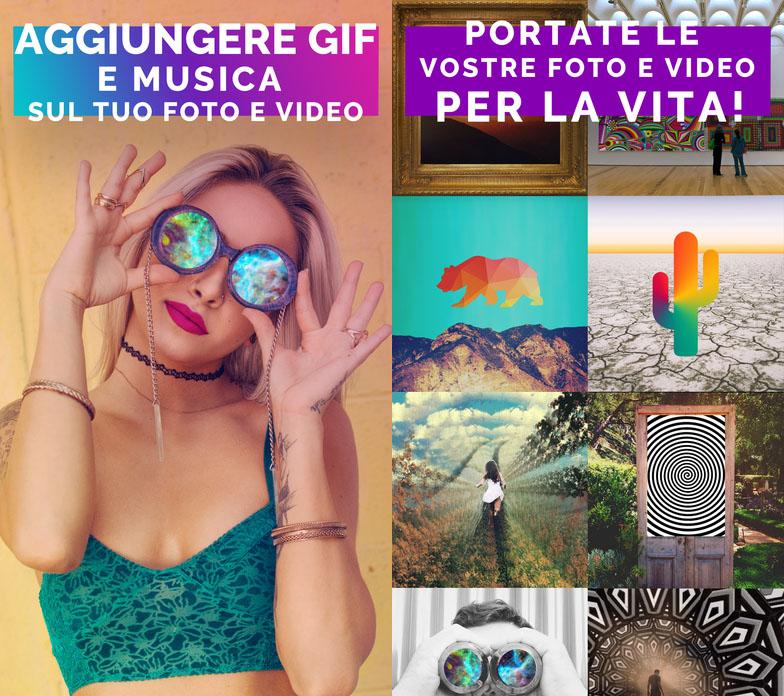 Gifx app per GIF Epifania