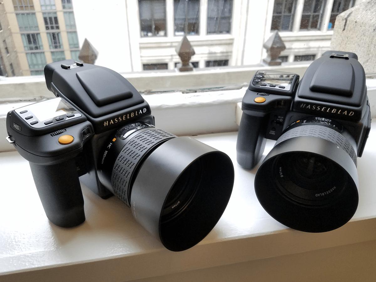 Hasselblad H6D 50c e H6D 100c
