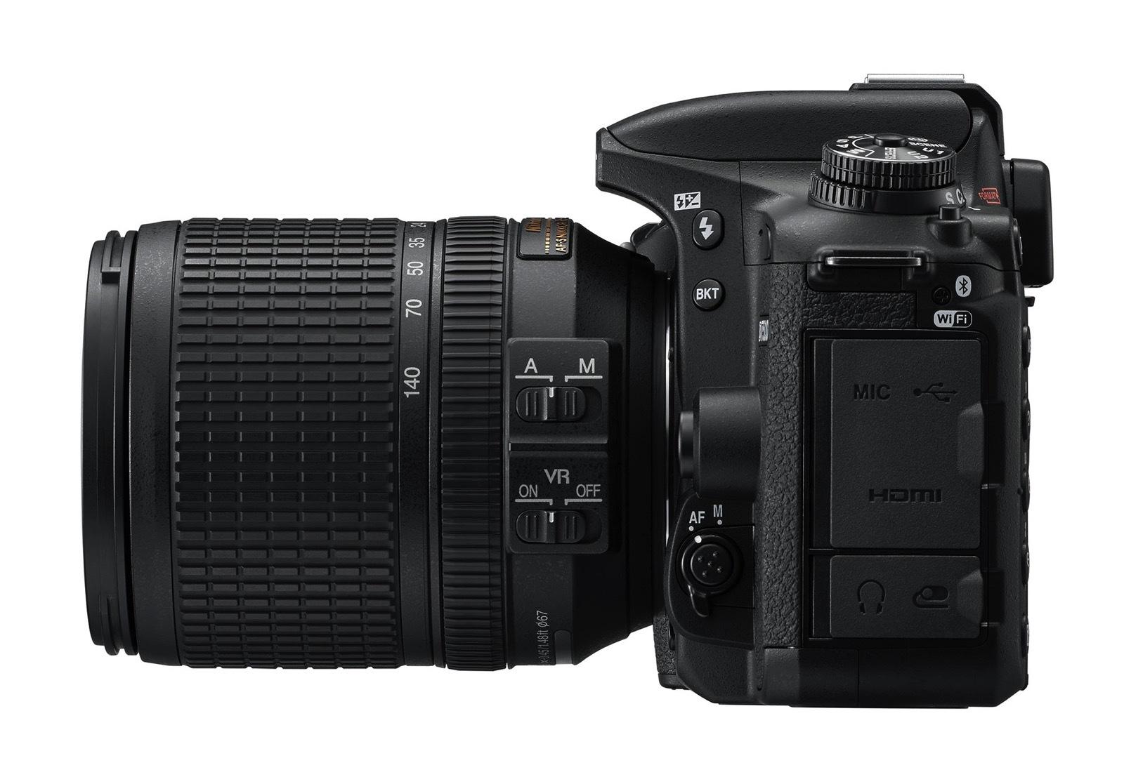 Nikon D7500 lato