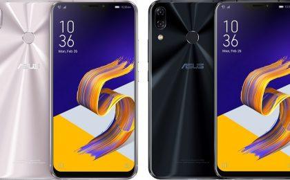 Asus Zenfone 5: i nuovi smartphone al MWC 2018