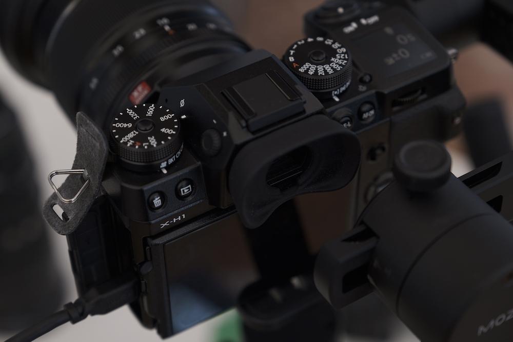 Fujifilm X H1 camera