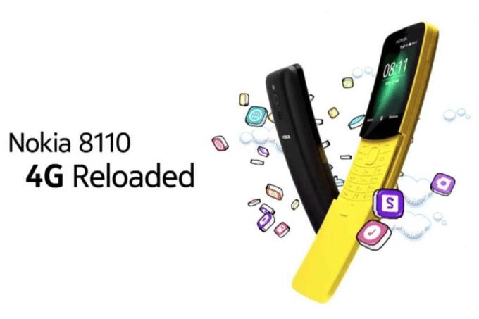 Nokia 8110 4G: il ritorno del banana-phone, prezzo e scheda tecnica