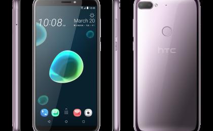 HTC Desire 12 e HTC Desire 12 Plus: scheda tecnica, fotocamera e prezzi