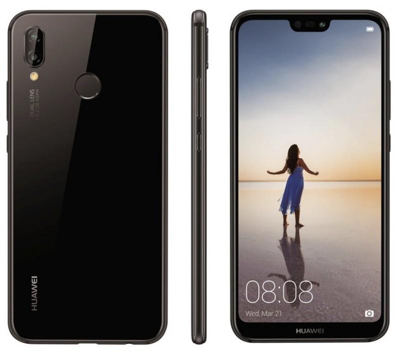 Huawei P20 Lite design
