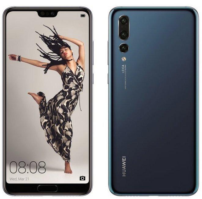 Huawei P20 Pro colore blu