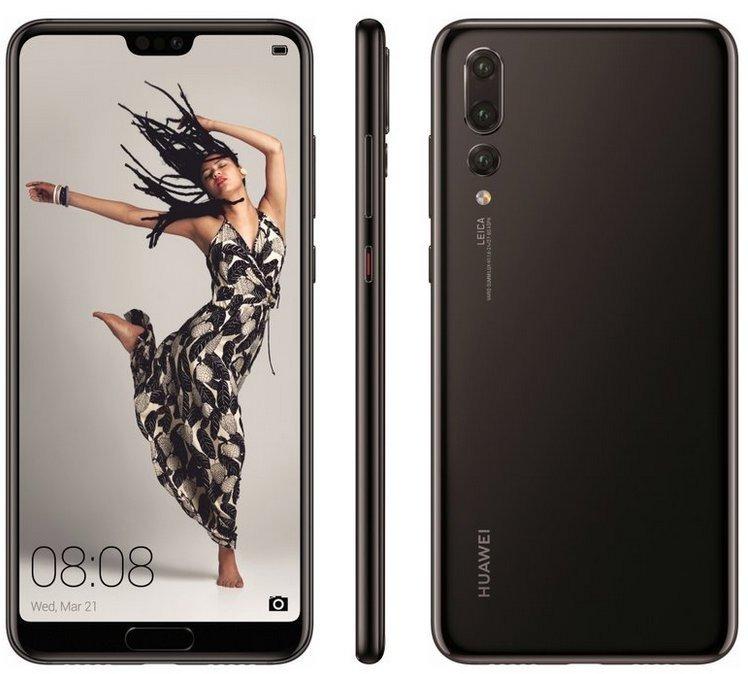 Huawei P20 Pro colore nero