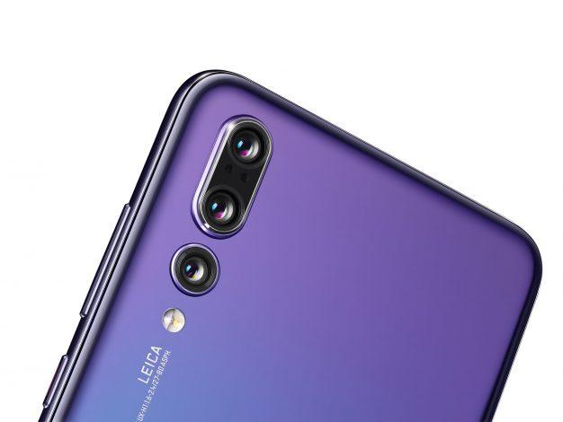 Huawei P20 Pro spigolo