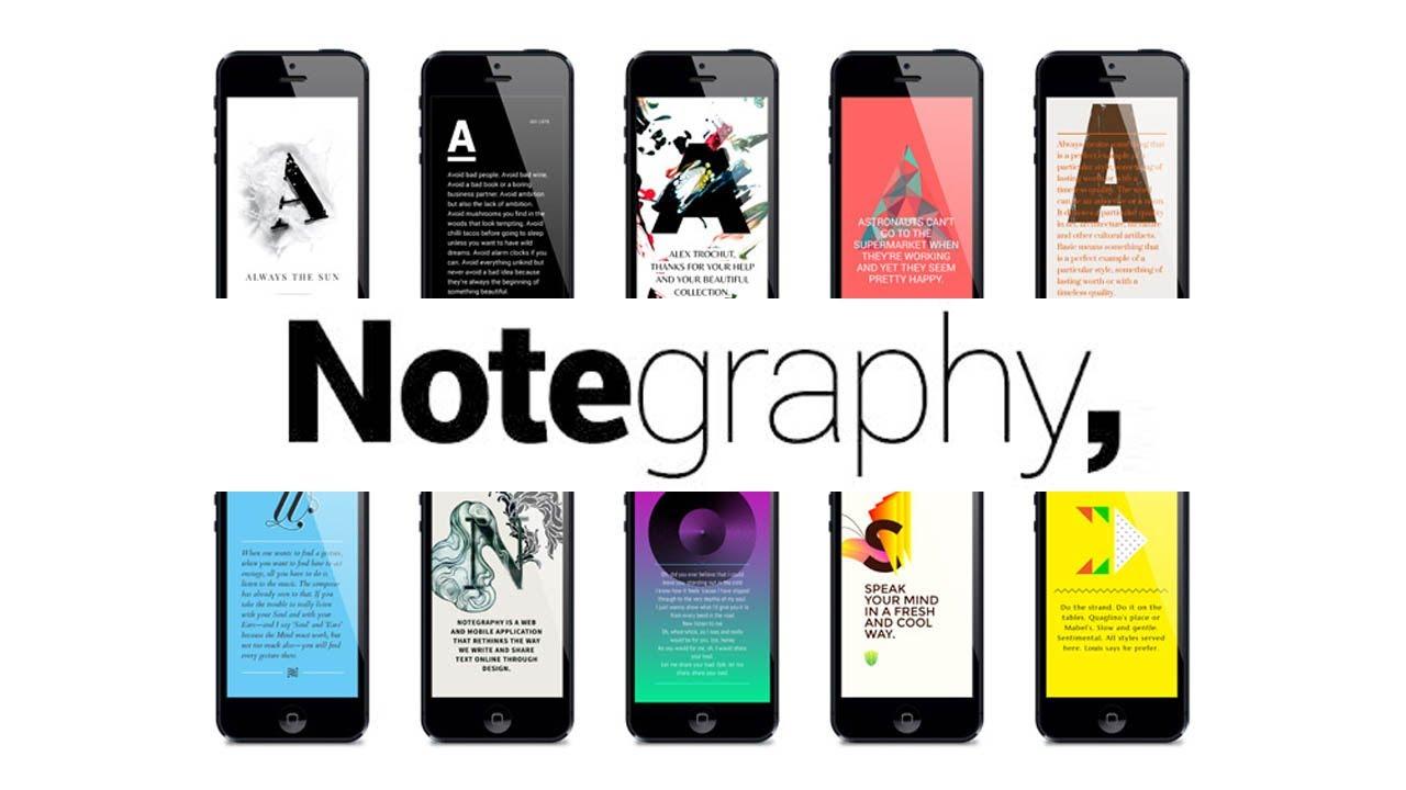 Notegraphy app immagini Festa della Donna