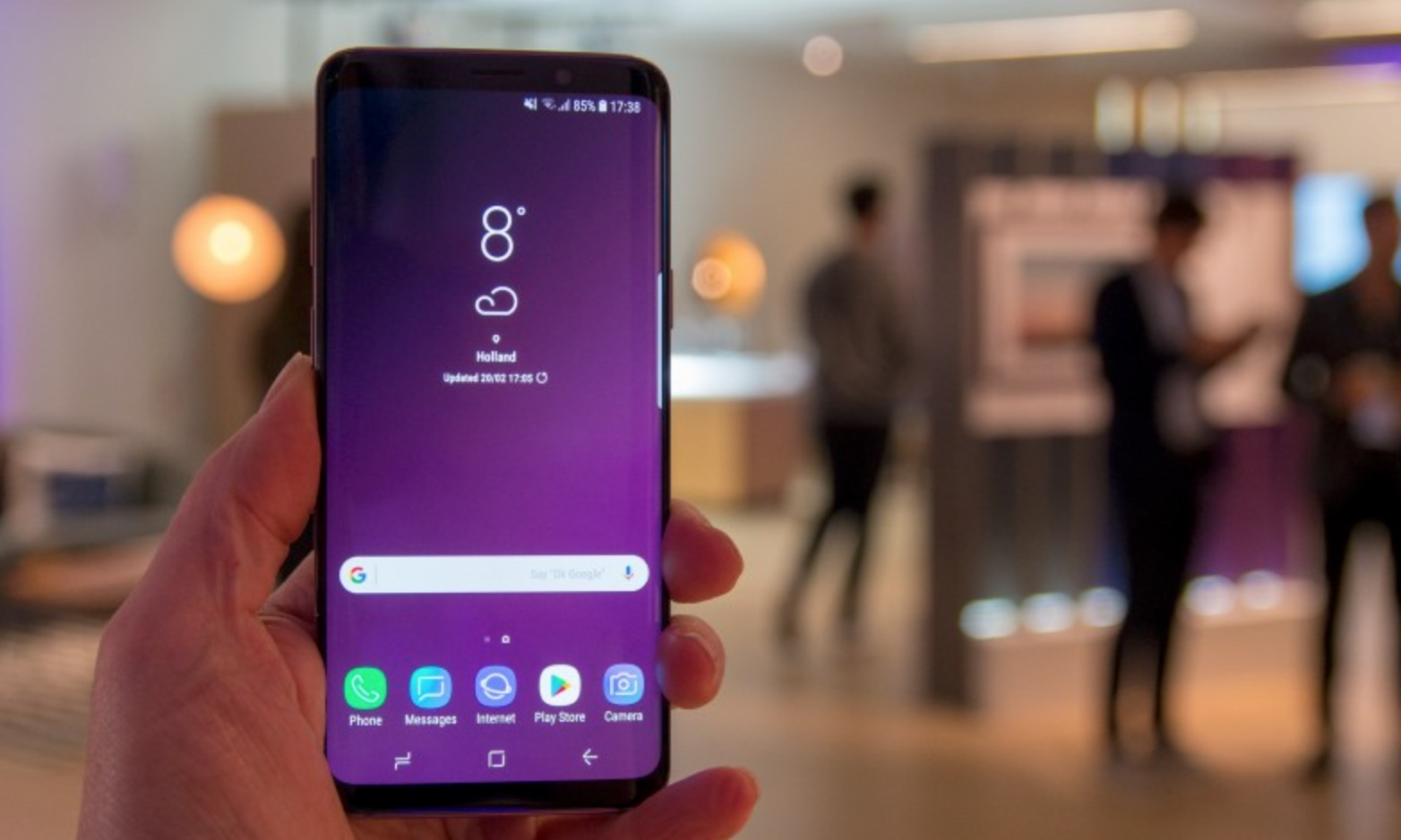 Samsung Galaxy S9 performance processore