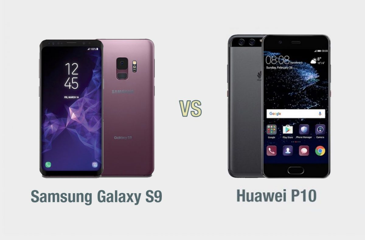 samsung galaxy s9 vs huawei p10 il confronto tecnocino. Black Bedroom Furniture Sets. Home Design Ideas
