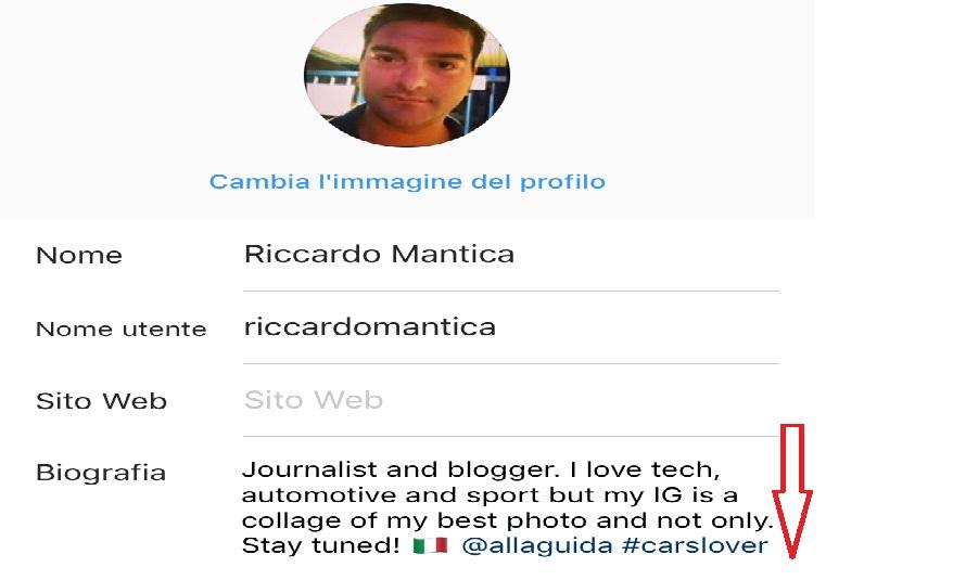 come inserire hashtag e menzioni sul profilo di Instagram
