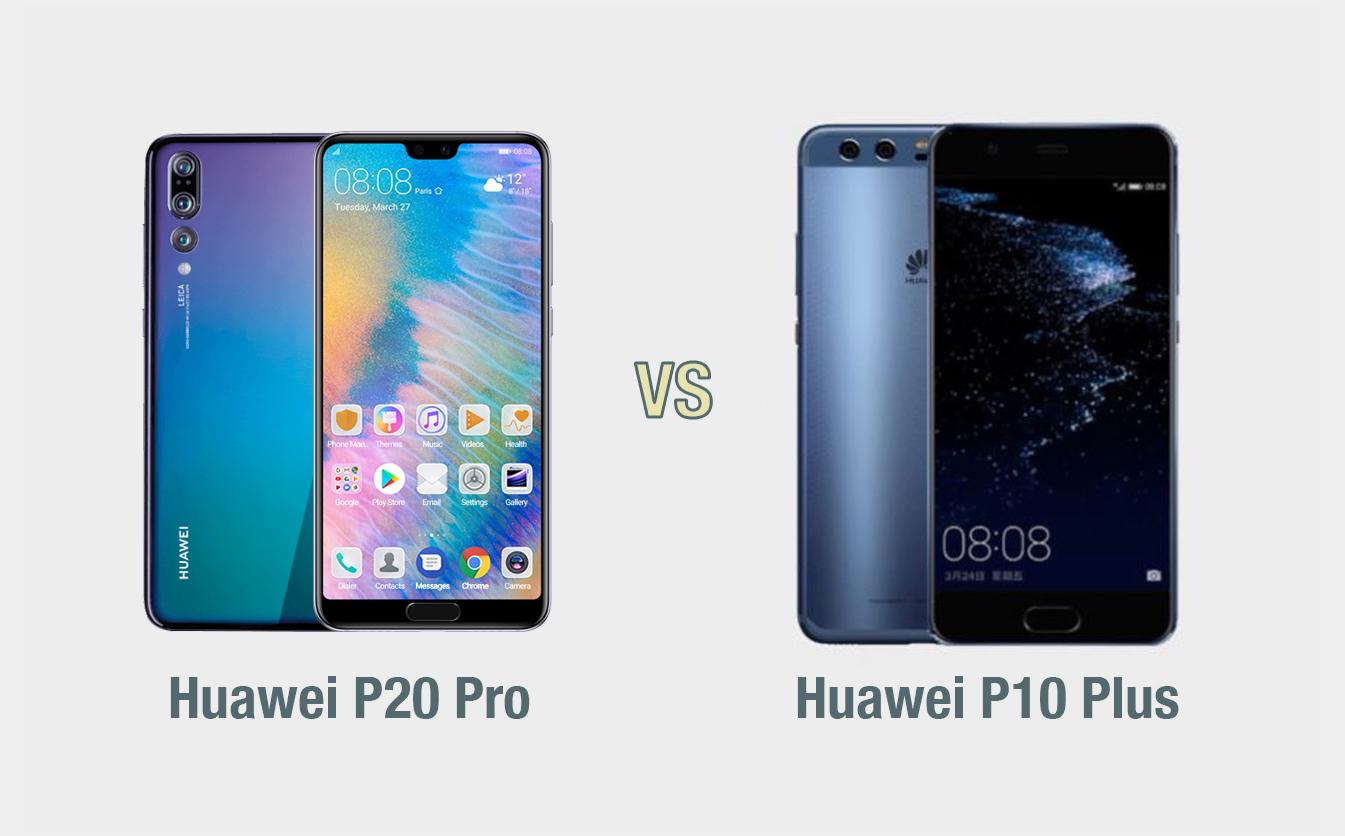 Huawei P20 Pro vs Huawei P10 Plus: il confronto
