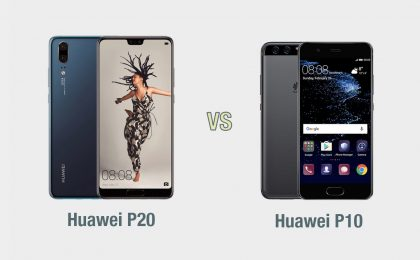 Huawei P20 vs Huawei P10: il confronto