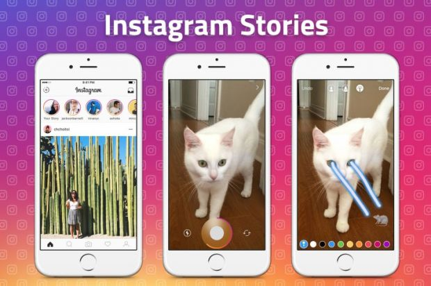 Instagram Stories modalita