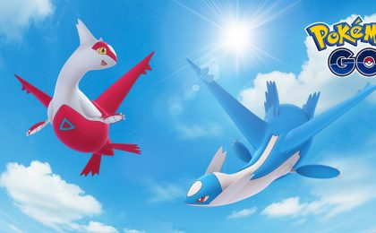 Pokemon Go: Latias e Latios ufficiali, i leggendari regionali