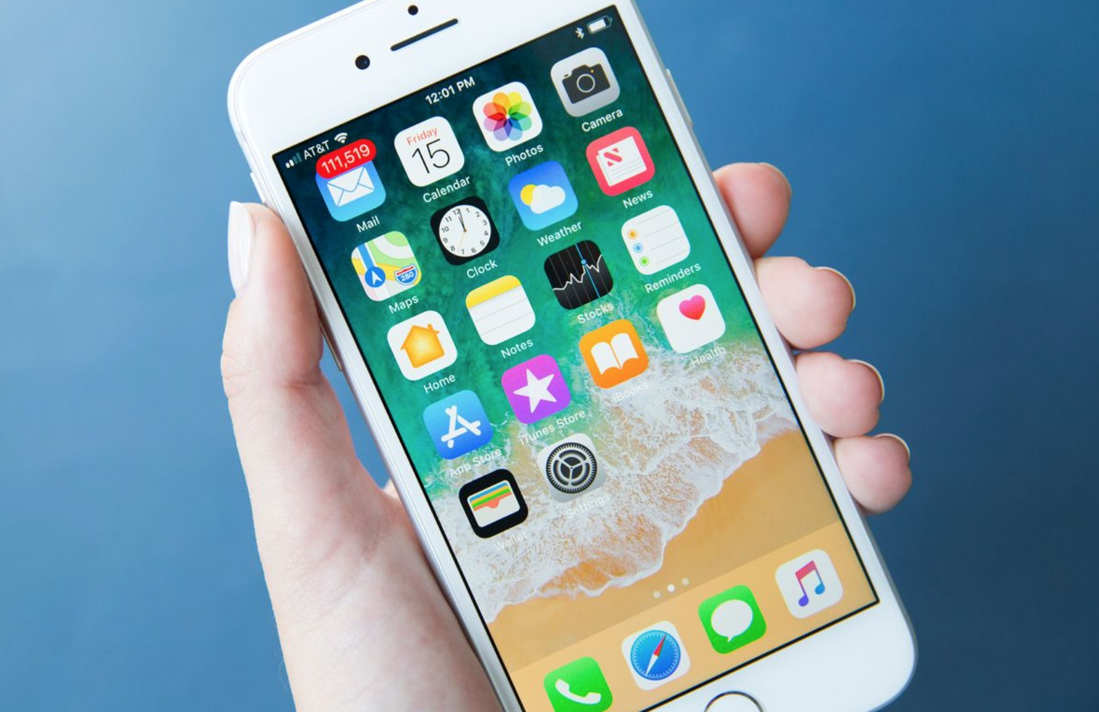 iPhone 8 schermo LCD