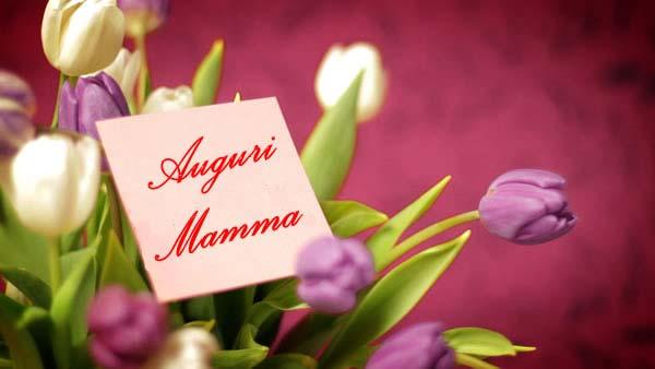 Festa della mamma auguri tulipani