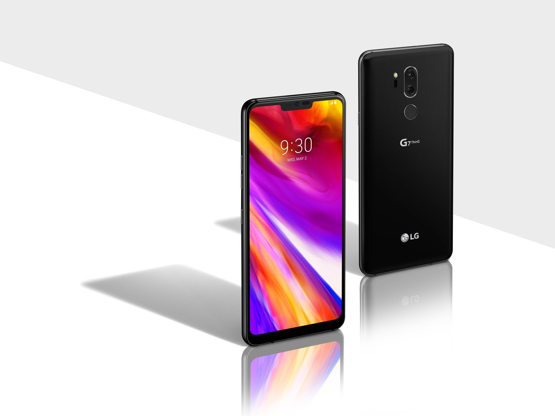 LG G7 con Android