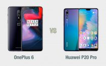 OnePlus 6 vs Huawei P20 Pro: il confronto
