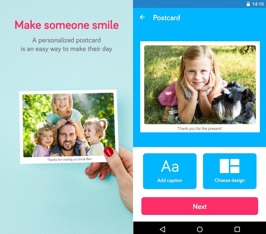 Touchnote app festa della mamma Android